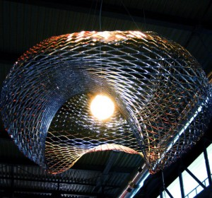 Net – Ceiling lamp by Paolo Ulian