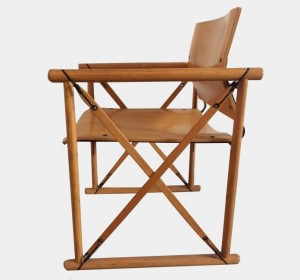 Fantastic Italian wood chair from the 70′s