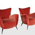 Italian Midcentury set of Arm chairs