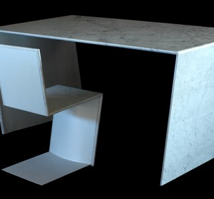 Thin Table and Chair