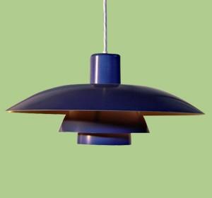 Poulsen ph5 designed by Paul Henningsen
