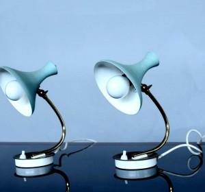 Bed side Italian lamps by Manifattura italiana