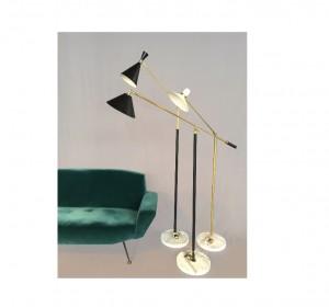 Italain Artigianal lamps in the manner of Stilnovo-New