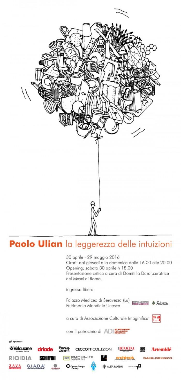 Paolo Ulian – La leggerezza delle intuizioni-