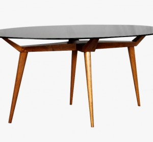 Italian Midcentury dining table by P.L Giordani