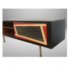Italian unique  Midcentury  decorative sideboard