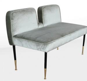 Italian stunning Midcentury stool-bench