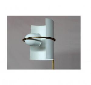 Italian White Midcentury floor lamp
