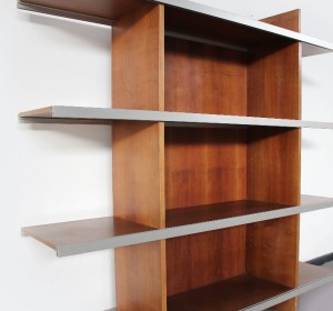 Italian library Multiuso designed by Angelo Mangiarotti- Poltronova