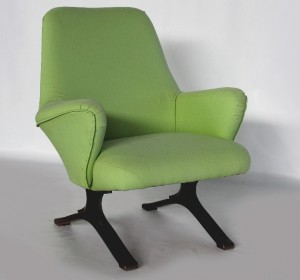 Italian Midcentury armchairs by Tecno