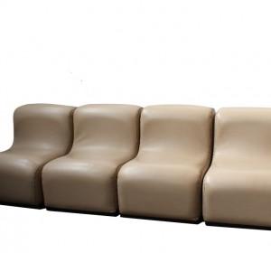Italian  70′s four seat sofà