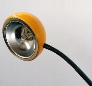 Memphis era floor lamp on  the manner of Sottsass's Halo Click FLOOR LAMP
