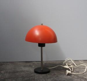 Midcentury Belgium Orange desk lamp