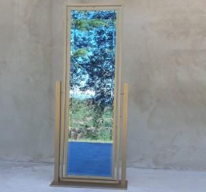 Italian Midcentury  brass Mirror