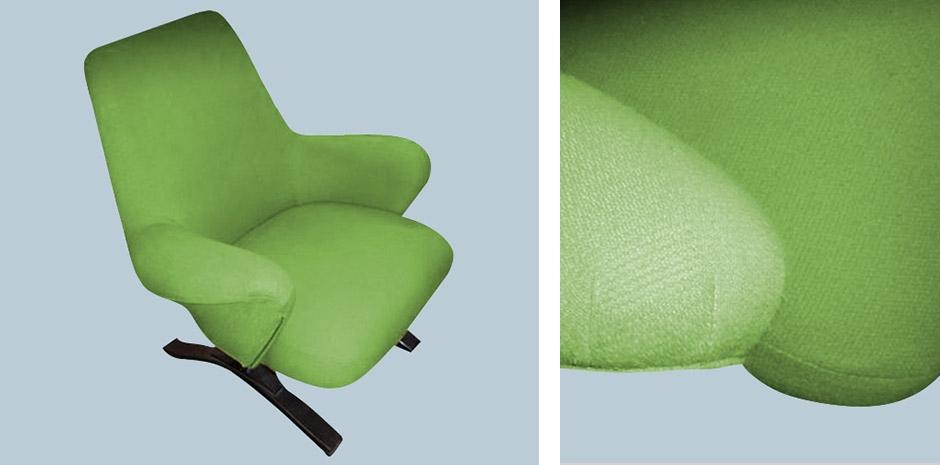 Poltrona Verde Acido.Poltrona Verde Acido F65
