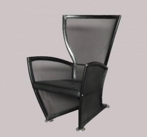 Italian  transparent Lounge Chair Paolo Nava ,1980