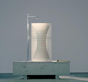 Antoniolupi – design by Paolo Ulian – produzione by Bufalini Marmi