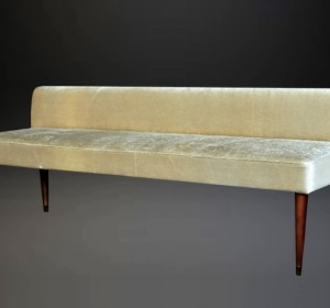 Midcentury Decorative Italian Long stool