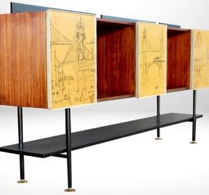 Italian Midcentury stunning Sideboard