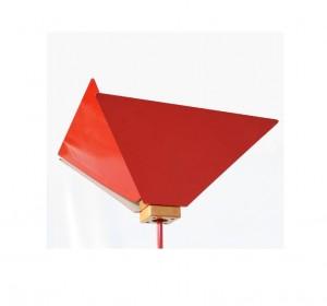 """J.De Pas ,D.D'Urbino,P.Lomazzi -KASUKO- Floor metal Red lamp""""Candle"""""""