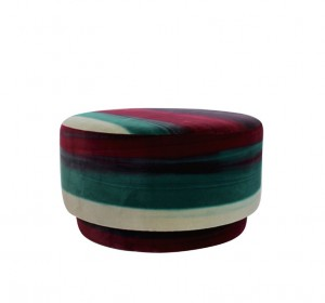 Italian decorative Pouf from the 70′s