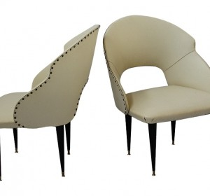 Italian Midcentury couple of armchairs