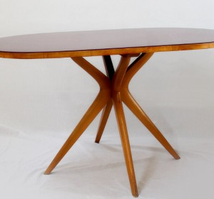 Italian Midcentury small bordò table