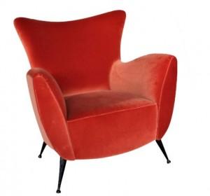 Italian Midcentury Arm chair