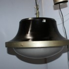 TAU ceiling black lamp by Sergio Mazza -Artemide