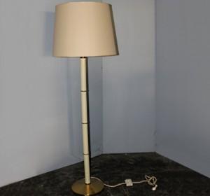 Italian Midcentury beige floor lamp by Pat Milano