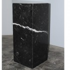 Black marble  parallelepiped  in Nero  Marquinia ,1980
